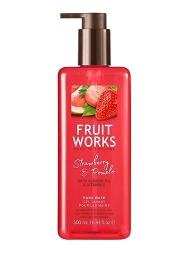 Fruit Works Strawberry & Pomelo Sıvı El Sabunu 500 ml Renksiz